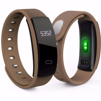 Avery QS80 Wristband Heart Rate Monitor Blood Pressure MonitorSmart Watch Sports Reminder Smart Bracelet For IOS