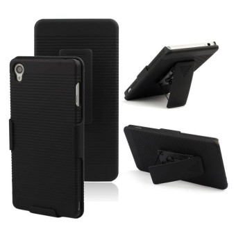 Back Clip Shell Protect Holster Hard Case Cover For Sony Xperia Z3 - intl