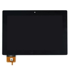 Baru Atas Touch Digitizer Layar LCD Display Assembly untuk Lenovo IdeaTab S6000 (Hitam) + 3 M Tape + Membuka Alat Perbaikan + Lem