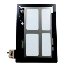 Baru Touch Digitizer Layar LCD Display Assembly untuk Lenovo IdeaTab S6000 (Hitam) + 3 M Tape + Membuka Alat Perbaikan + Lem