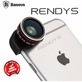 Baseus 3 in 1 Fisheye Wide Angle Macro Lens for iPhone 6/6s/6+/6s+