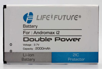 Batre / Battery / Baterai Lf Andromax I2 / Ad683j Double Power + Double 2ic