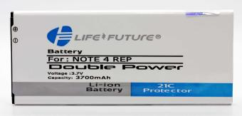Batre / Battery / Baterai LF Samsung galaxy note 4 Double power +2Ic