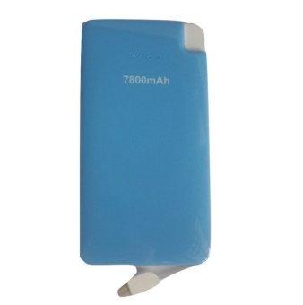 Bcare Slim Powerbank - 7800 mAh - with integrated micro USB output - Biru