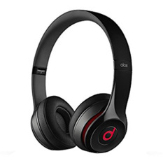 Beats Solo2 Wireless On-Ear Headphones Hitam