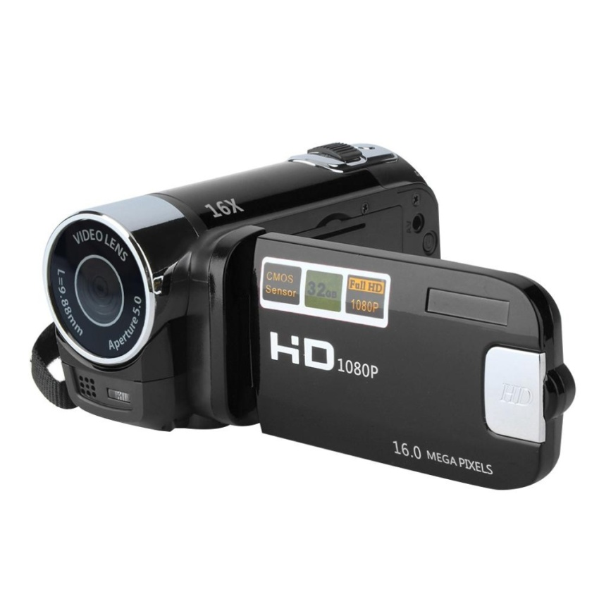 Beau 2.7 Inch Tft Lcd Full Hd 720P Digital Video Camcorder 16X Zoom Dv Camera - intl
