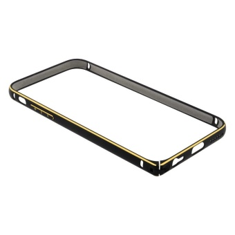Beauty Apple iPhone 5 / Iphone5 / iPhone 5G / Iphone 5S / iPhone5SE Bumper Alumunium / Bumper Ring Frame / Bumper Besi iPhone 5 -Hitam