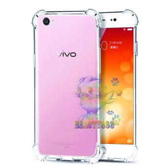 Beauty Case For Vivo Y53 2017 Anti Crack Vivo Y53 Ultrathin AntiShock Elegant Softcase Anti Jamur Anti Crack Air Case 0.3mm /Silicone Vivo Y53 / Soft Case / Case Hp - Putih Transparant