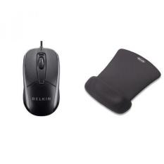 Belkin 3-Button Mouse USB Optical Mouse dengan Kabel 5 Kaki,