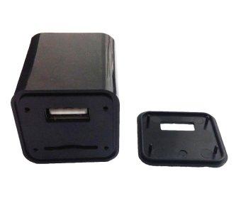 Best CT Alat Sadap Suara Kartu Gsm 24 Jam Model Ac Adapter ChargerHitam
