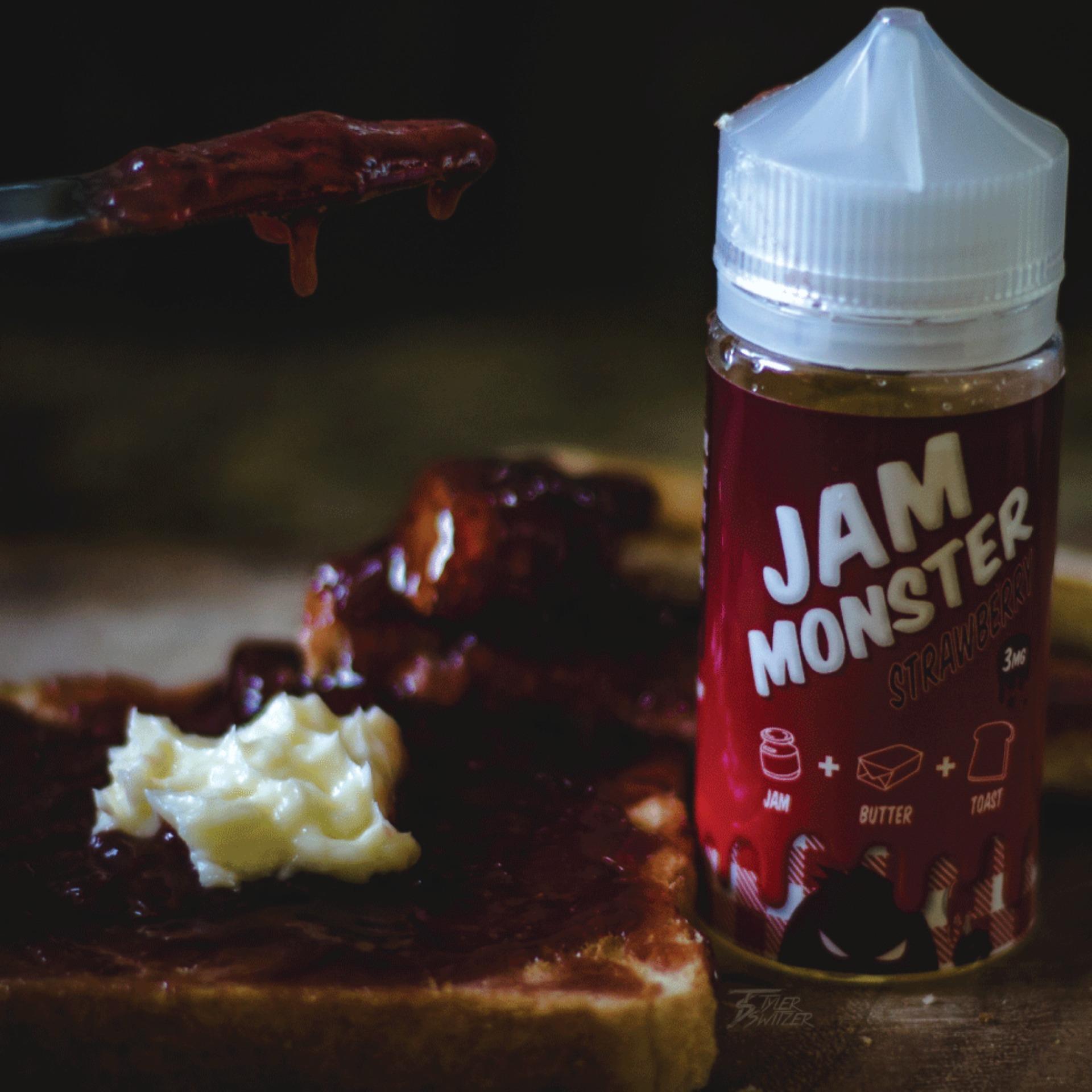 Terbaik Murah Best Premiium Liquid Usa Vape Vapor Vaporizer Giant E Selai Strawberry Eliquid Jam Monster Roti