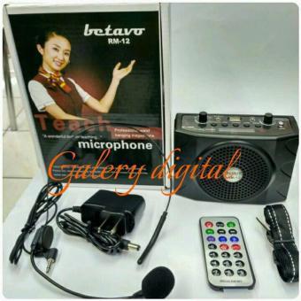 Betavo Speaker pinggang Tour Guide dan Guru Waisband SerbagunaRM-12