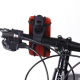 ... Bike Phone Holder Silicone Elastic Band Handlebar Bicycle Motorcycle Mount for Cellphone (Black) -