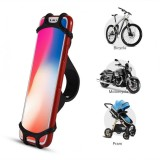 ... Bike Phone Holder Silicone Elastic Band Handlebar Bicycle Motorcycle Mount for Cellphone (Black) ...