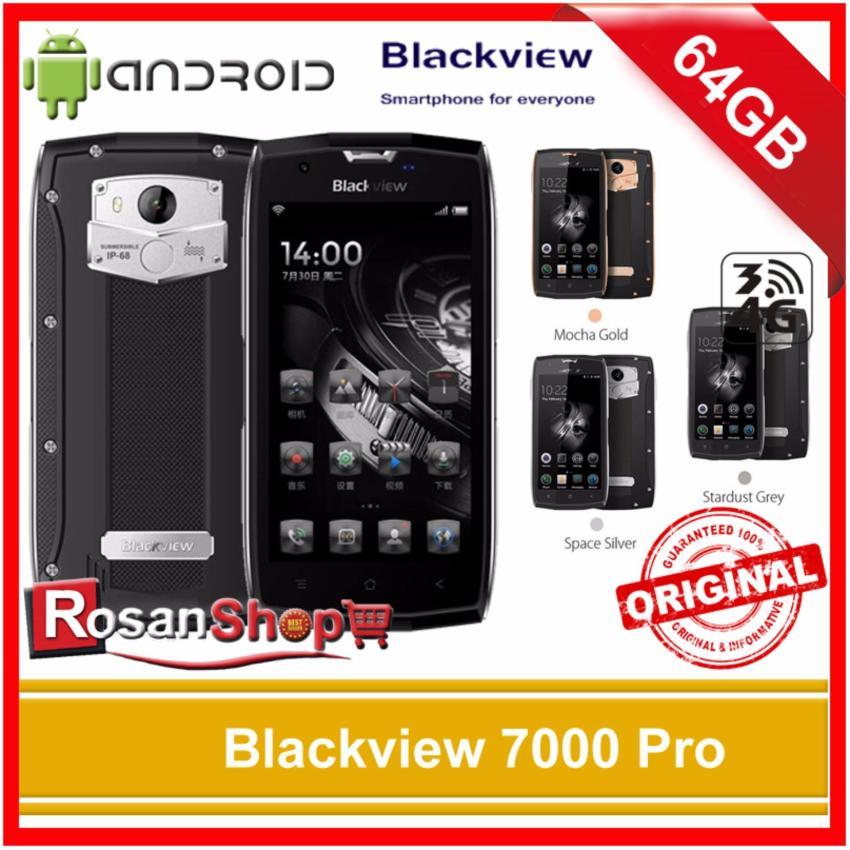 Blackview Bv7000 Pro 64Gb Ram 4Gb Waterproof Bv 7000 - Garansi 1thn