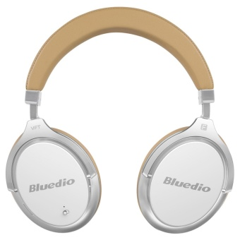 ... Plus UFO itu di-ear headphone dengan mikrofon (hitam). Bluedio F2 (Faith) Active Noise Cancelling Over-ear Business Wireless Bluetooth Headphones with