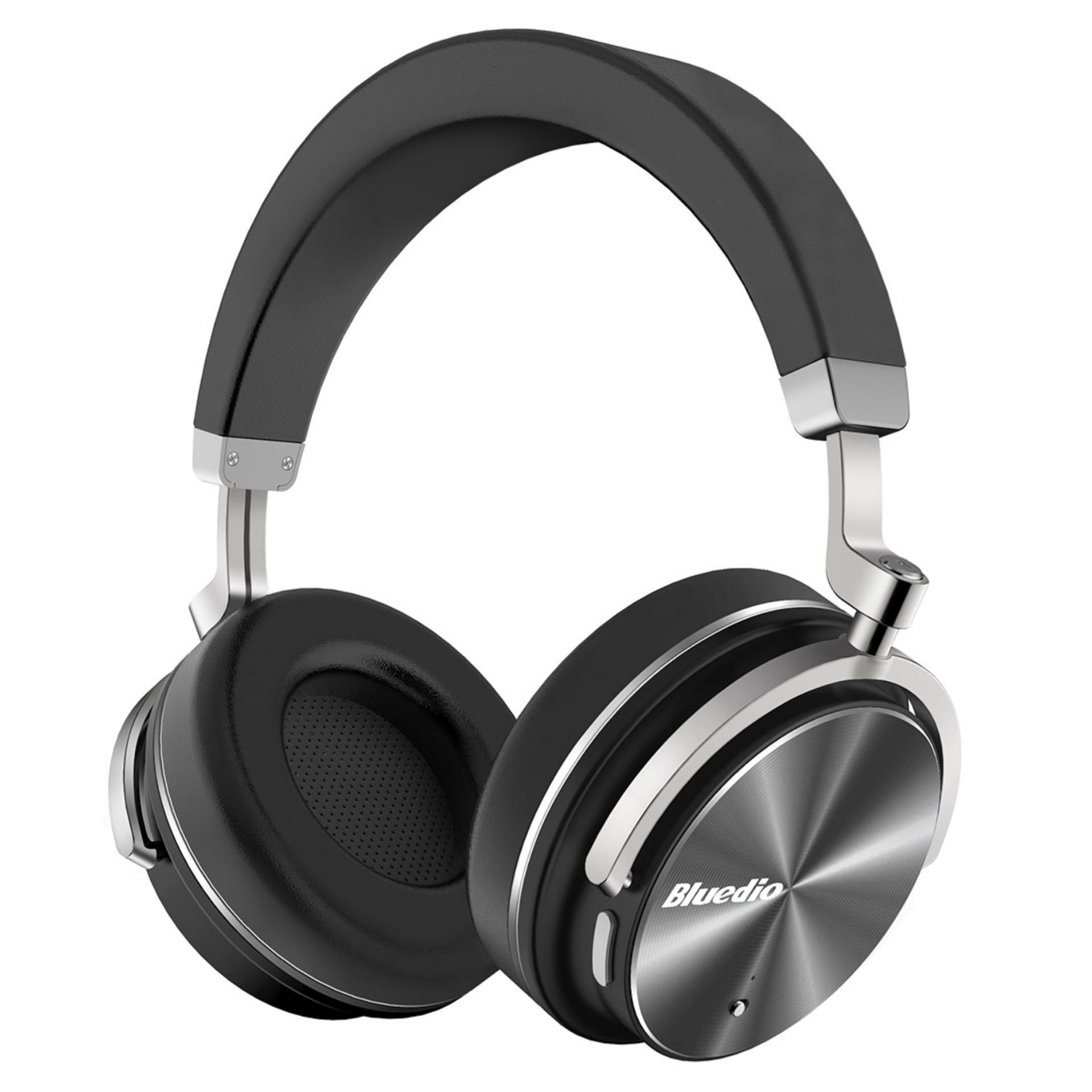 Bluedio T4 Turbine Active Noise Cancelling Over ear Swiveling Wireless Bluetooth Headphones with .