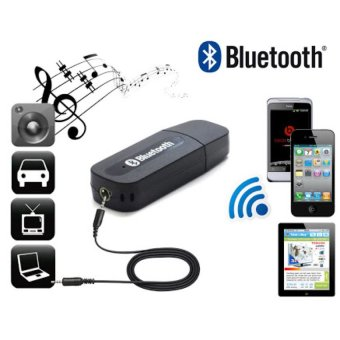 Bluetooth Music 3.5mm Stereo Audio Music Receiver Adapter ForSpeaker