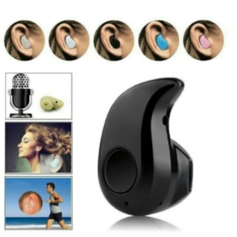 Bluetooth Music Invisible Headset / Micro Sport Stereo Mini Handsfree / Smartphone Wireless Earphone - S530 - Black