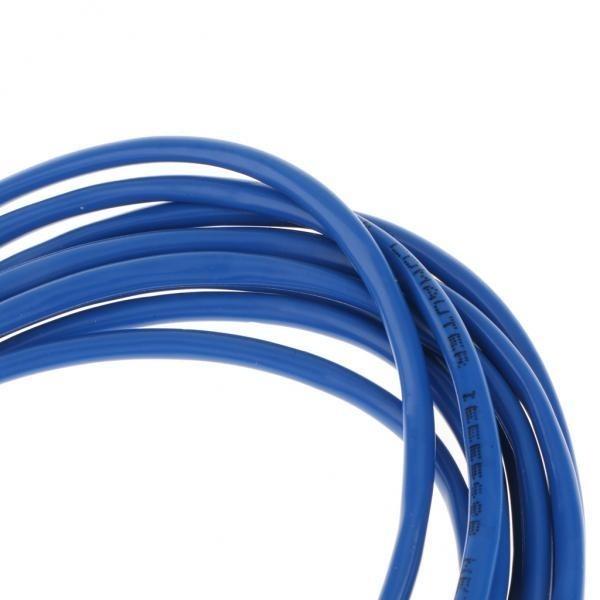 BolehDeals Cat5e Patch Cord Cable Ethernet Internet Network LAN RJ45 UTP Blue 5Meter - intl ...