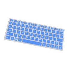 BolehDeals Silicone Soft Keyboard Skin Cover Film For lenovo's new air 12 6Y30 blue - intl