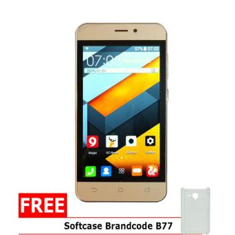 Brandcode B77 Mate7 - 4GB - Gold + Gratis Silicon Case
