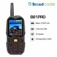 Brandcode B81 Pro - Big Speaker - 10000 mAh - Hijau