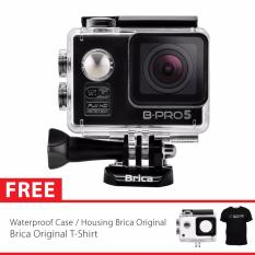 BRICA B-PRO 5 Alpha Edition Full HD 1080p Wifi Action Camera - Hitam