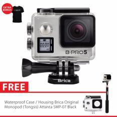 BRICA B PRO 5 Alpha Edition Version 2 Mark IIs AE2s 4K WIFI Action Camera Gratis Tongsis Attanta SMP 07