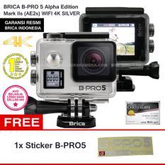BRICA B-Pro5 Alpha Edition 4K Mark IIs (AE2s) SILVER + FREE STICKER B-PRO5