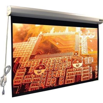 Brite Screen Motorized MR-1818 - Putih