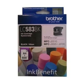 Brother Tinta Printer LC 583 Hitam