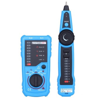 BSIDE FWT11 Handheld RJ45 RJ11 Network Telephone Cable Tester Wire line Tracker - intl