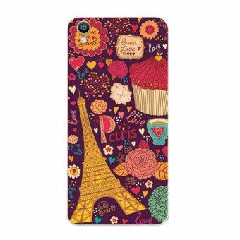 BUILDPHONE Plastic Hard Back Phone Case for Lenovo K3 NOTE/A7000(Multicolor) - intl