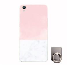 BUILDPHONE Plastik Hard Back Phone Case untuk Lenovo S60 dengan Pemegang Telepon Ring (Multiwarna)-Intl