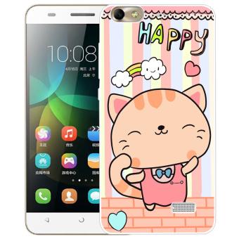 BUILDPHONE TPU Soft Phone Case untuk HUAWEI Honor 4C (Multicolor)-Intl