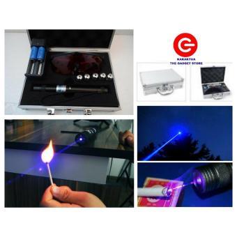 Burning Laser Blue High Beam Pointer - Biru Bakar - Sinar Membakar- Led Burn