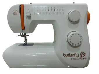 Butterfly JH5832A Mesin Jahit Portable Multifungsi