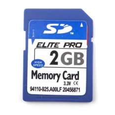 BUYINCOINS 2 GB SD Kartu Memori Digital Yang Aman