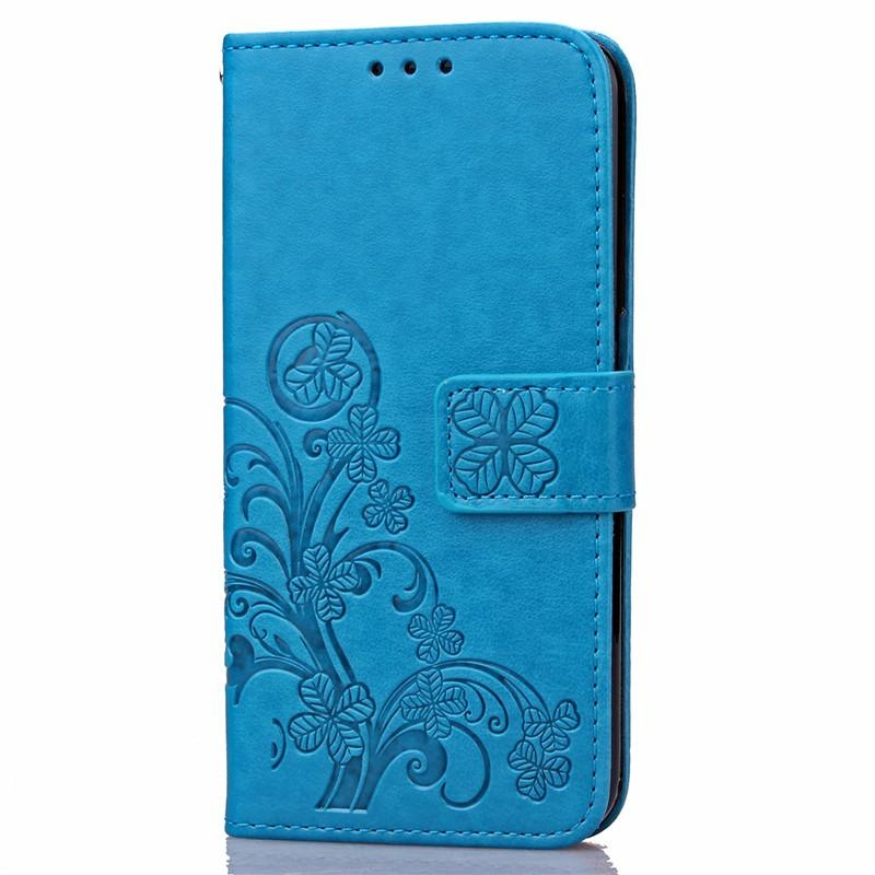 ... BYT Flower Debossed Leather Flip Cover Case for Xiaomi Redmi 4A -intl ...