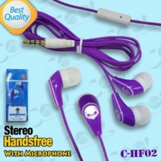Rp 12.000. C-HF02 Headsfree STEREO Sound Only Excellent Sound Quality With Mic warna ...