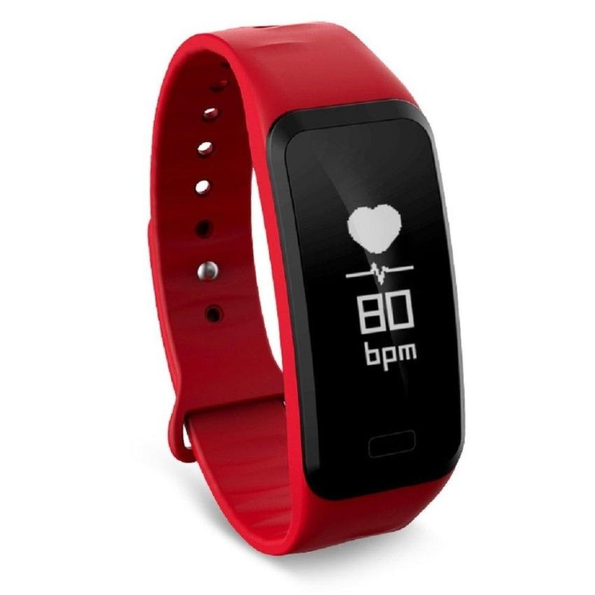 ... C1S Wristband Heart Rate Blood Pressure Monitor Smart Watch WaterProof Fitness Tracker For Android And IOS ...