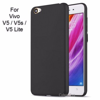 Calandiva 360 Degree Protection Slim HardCase for VIVO V5 / V5s / V5 Lite - Hitam