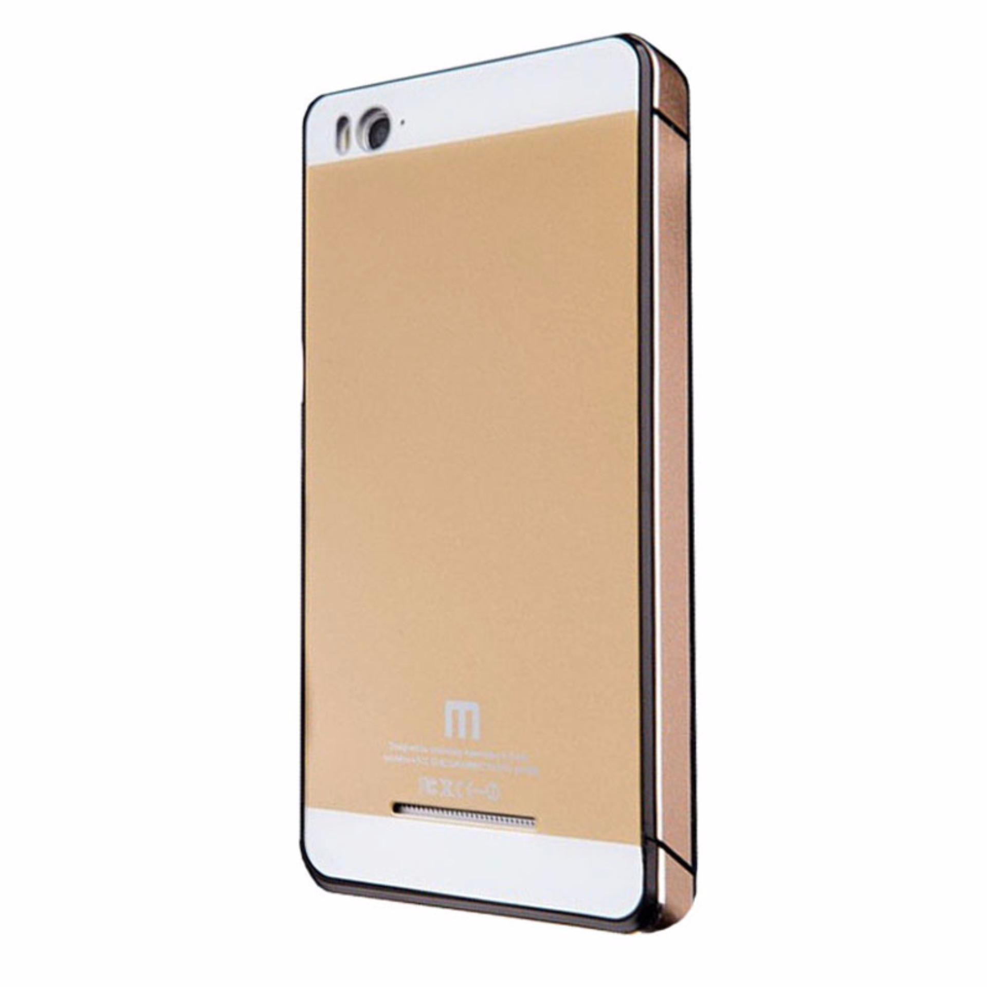 Calandiva Backcase Tempered for Xiaomi MI4i / MI4c - Gold ...