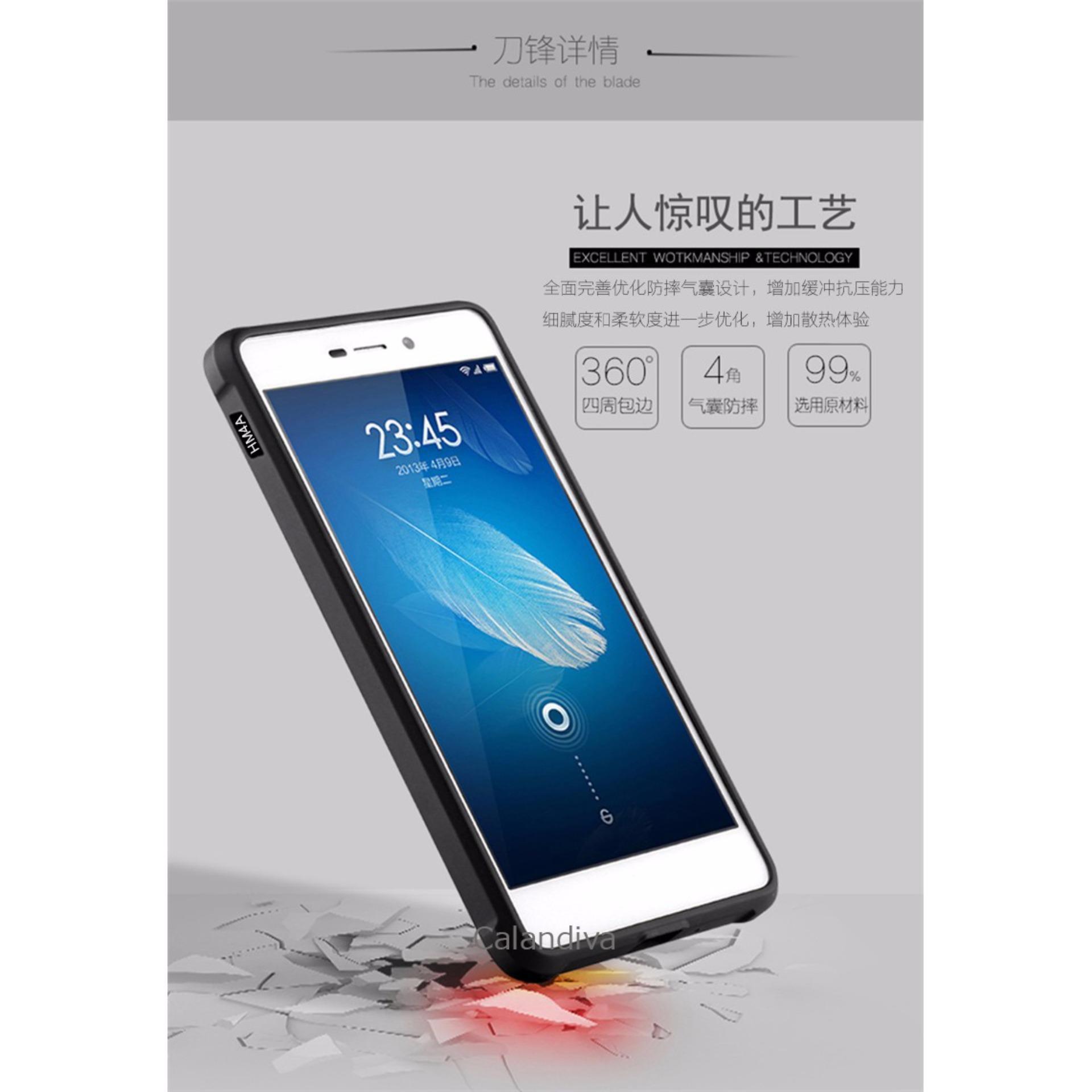 Calandiva Dragon Shockproof Hybrid Case for Xiaomi Redmi 4A / Redmi 4A Prime .
