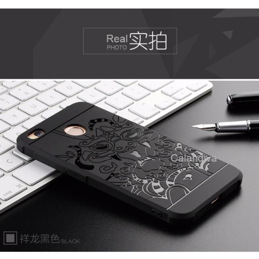 Calandiva Dragon Shockproof Hybrid Case for Xiaomi Redmi 4X Redmi 4X Prime 5 .