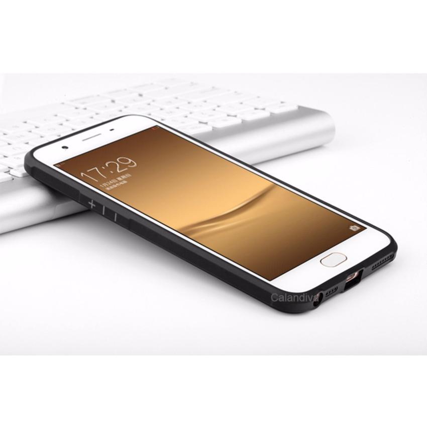 ... Xiaomi Redmi Note 4X Black Gratis Tempered Source Calandiva Dragon Shockproof Hybrid Case untuk Oppo F1s