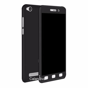 Calandiva Front Back 360 Degree Full Protection Case With Tempered Glass for Xiaomi Redmi 4A /