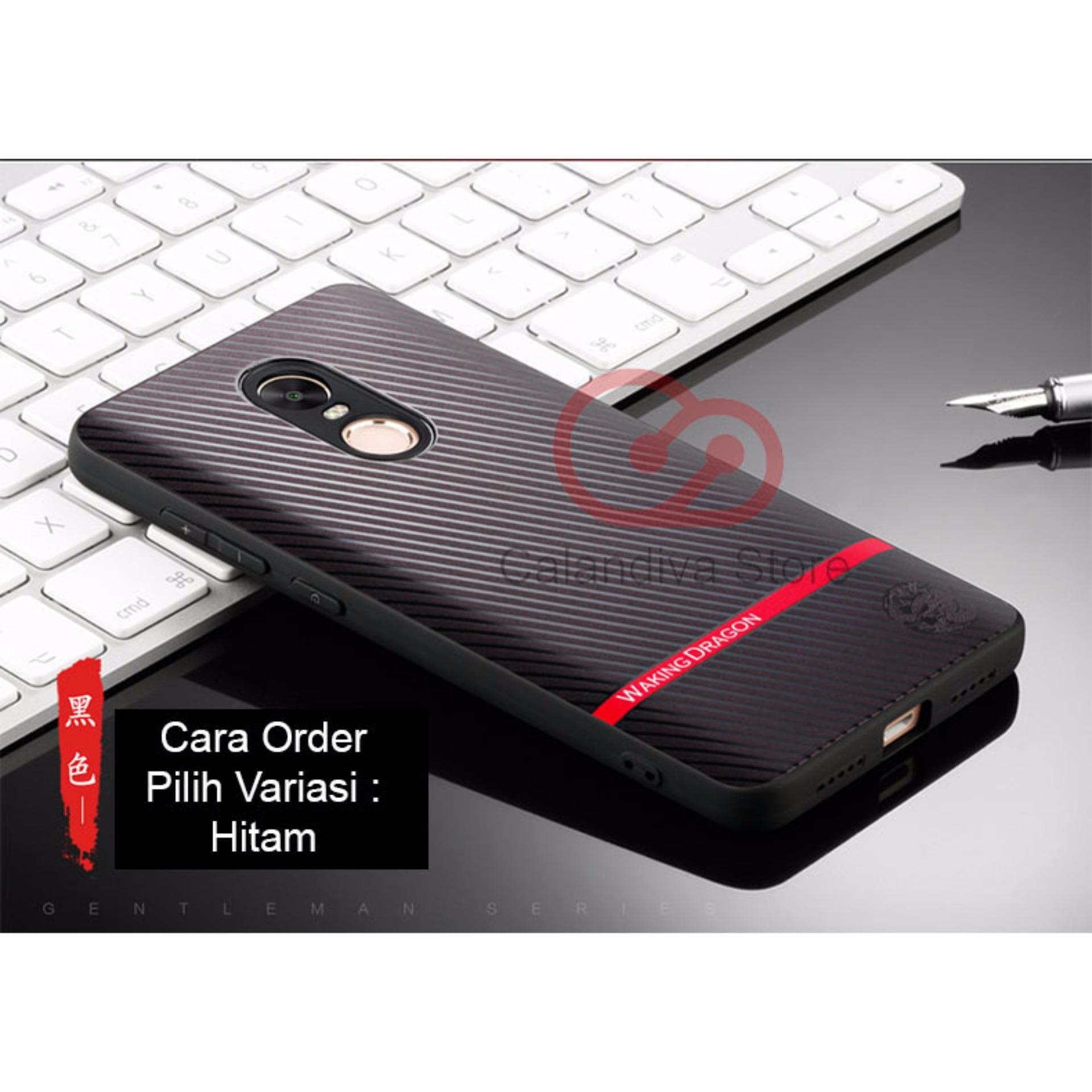 Peonia Premium Carbon Shockproof Hybrid Case For Xiaomi Redmi Note Transparent Acrylic 4x Snapdragon Tg Merah Calandiva Gentleman Series 4 Mediatek