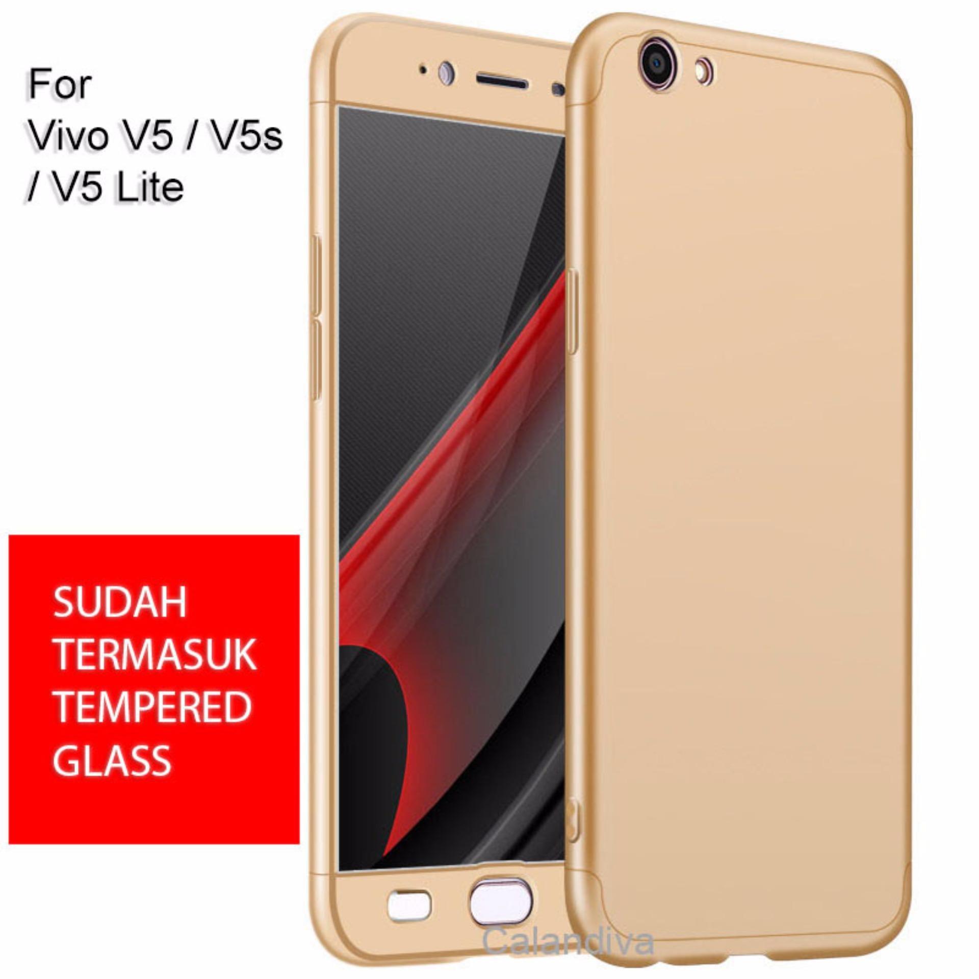 ... Calandiva Premium Front Back 360 Degree Full Protection Case for VIVO V5 / V5s / V5 ...